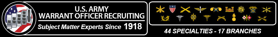 Attractive Warrant Officer Recruiting